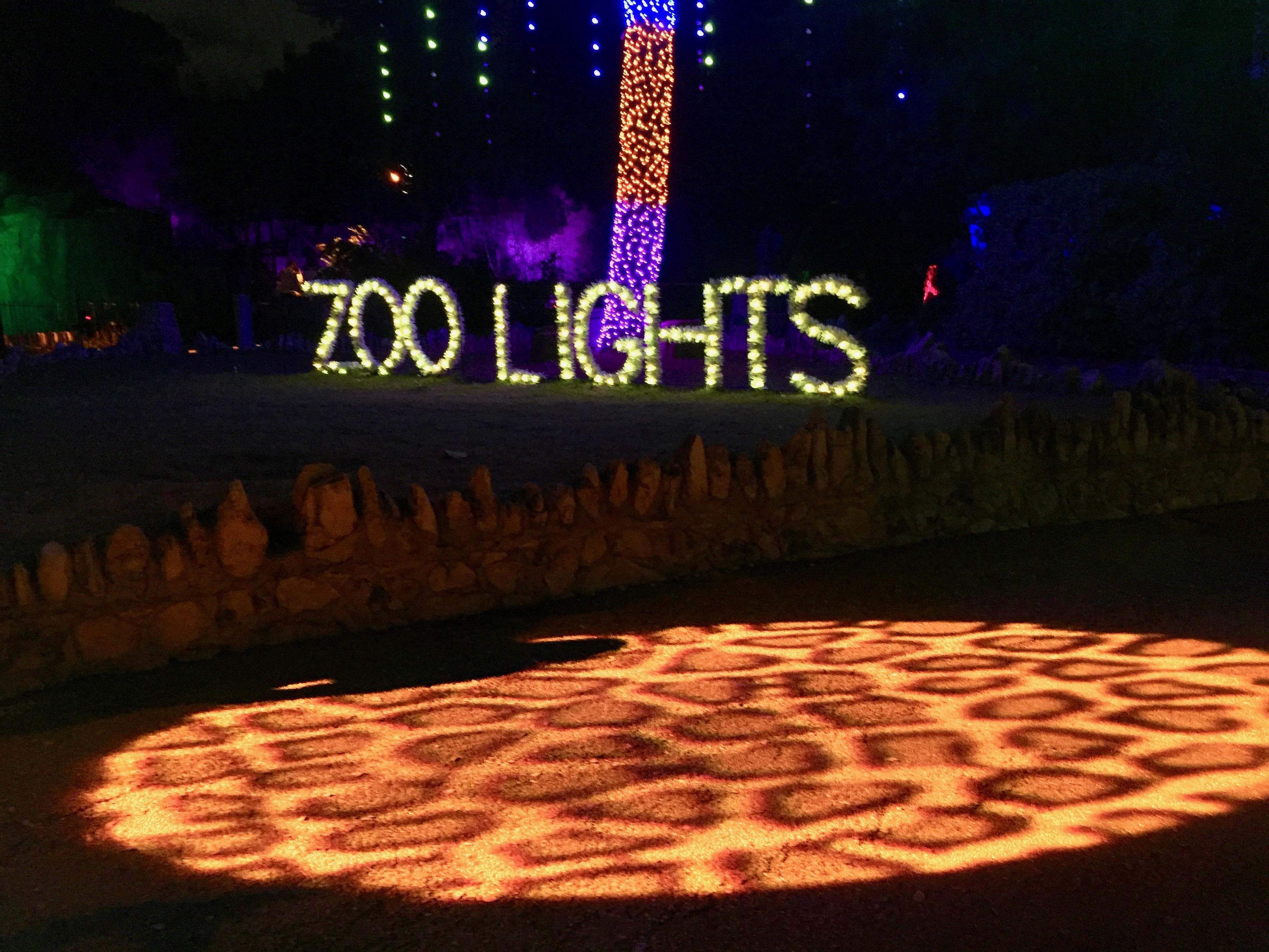San Antonio Zoo Lights 2017
