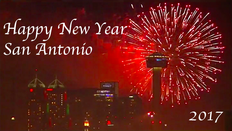 Happy New Year San Antonio 2017