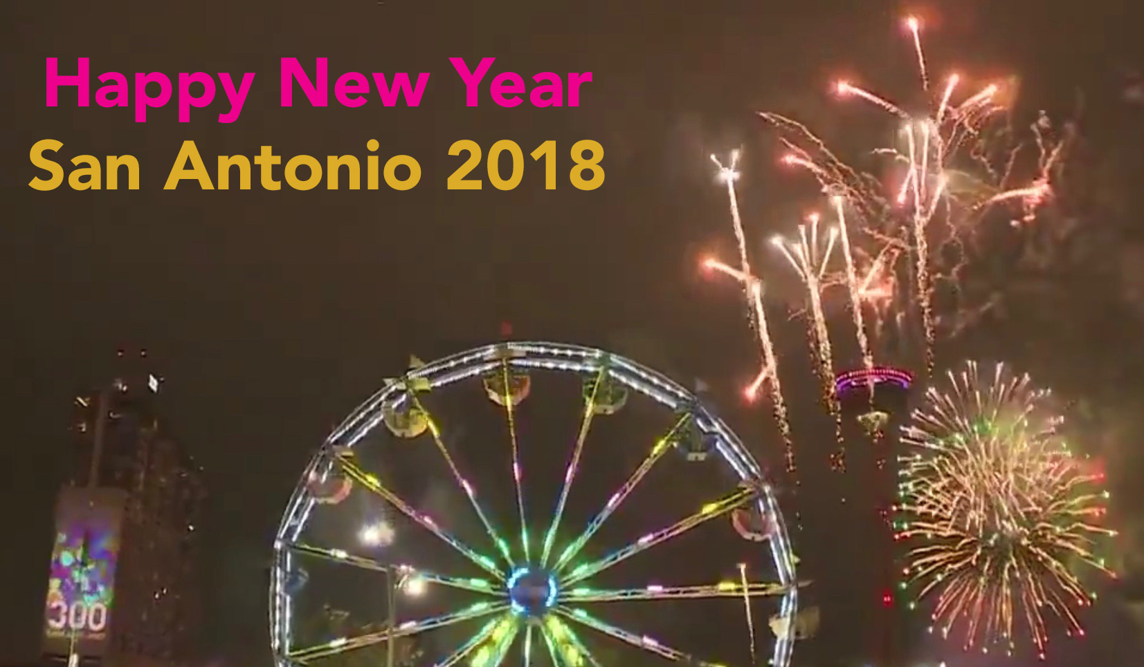 San Antonio New Year 2018