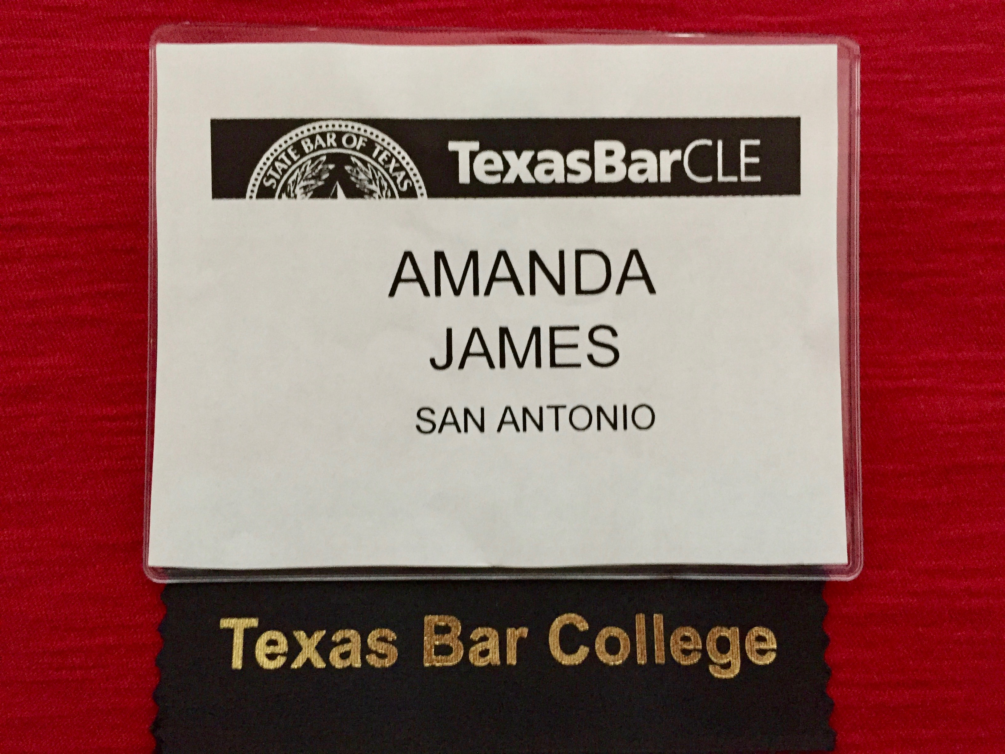 San Antonio Texas Bar College 2017