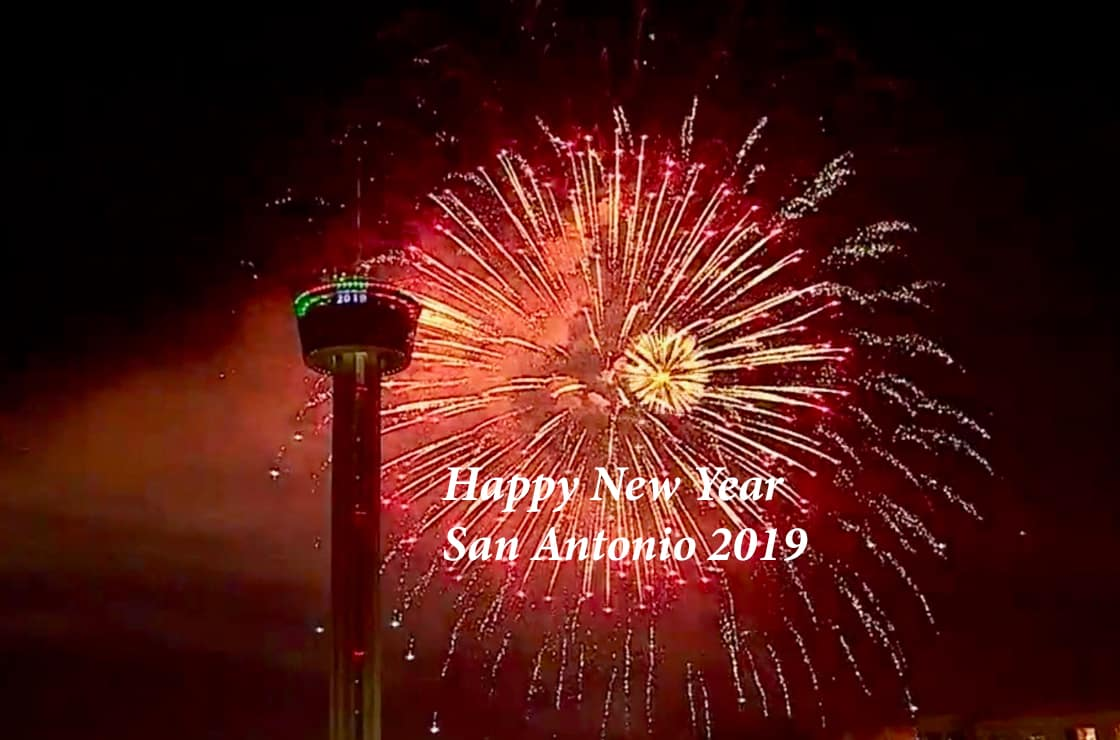 Happy New Year San Antonio 2019