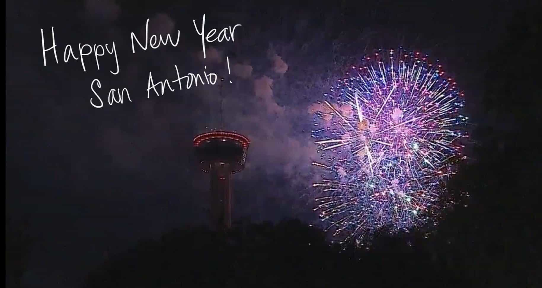 Happy New Year San Antonio 2020