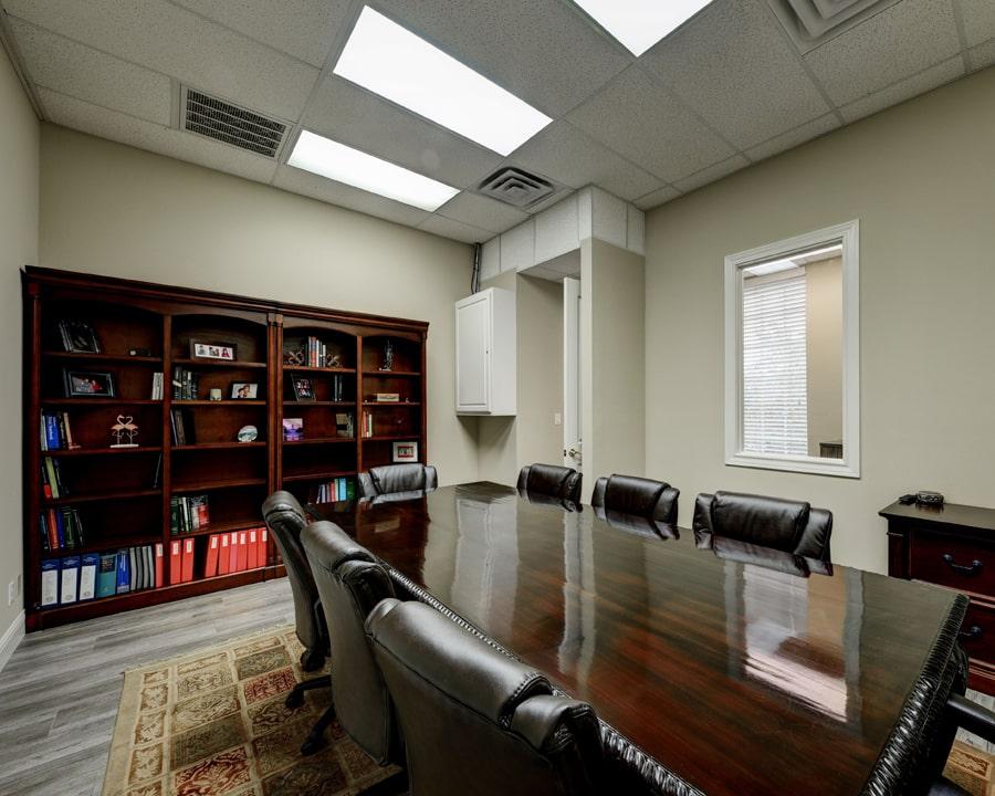 San Antonio Texas Personal Injury Attorney Deposition Room